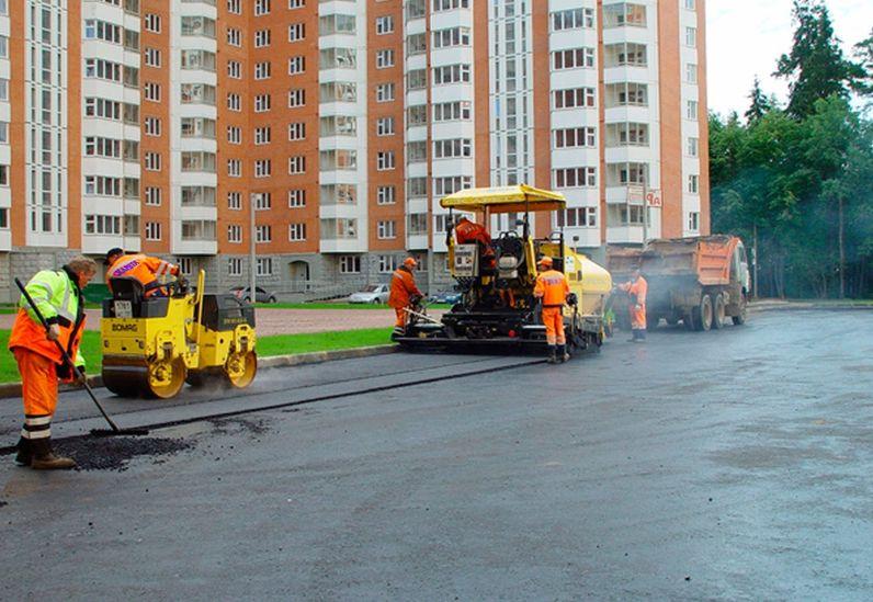 Асфальтирование дворов в Нижнем Новгороде