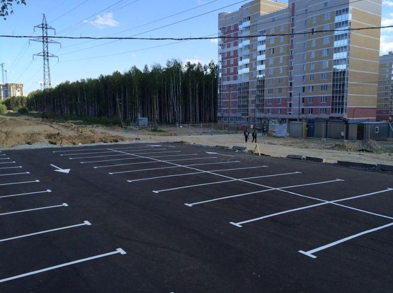 Асфальтирование стоянок, паркингов